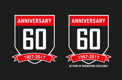 2017 is the 60th year anniversary